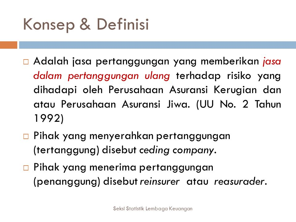 Konsep & Definisi