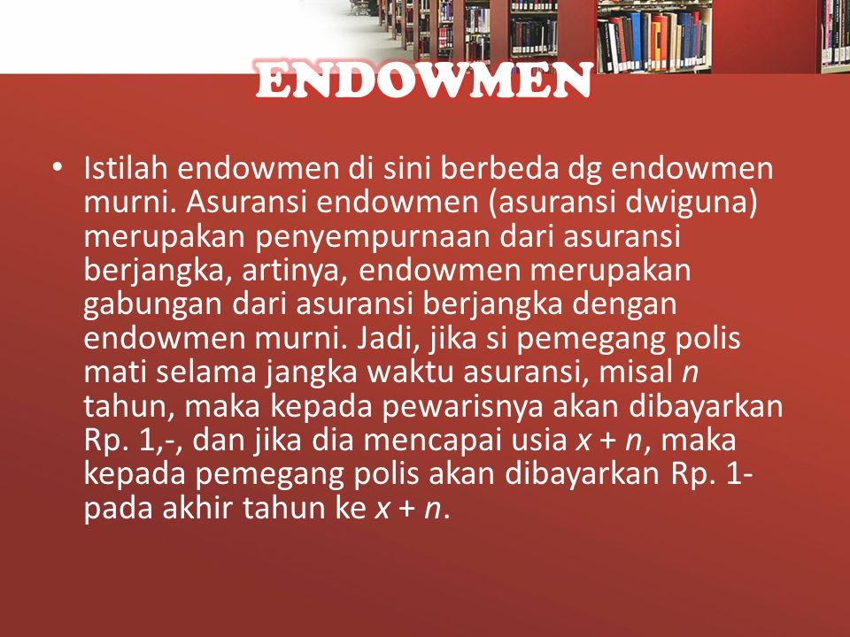 ENDOWMEN