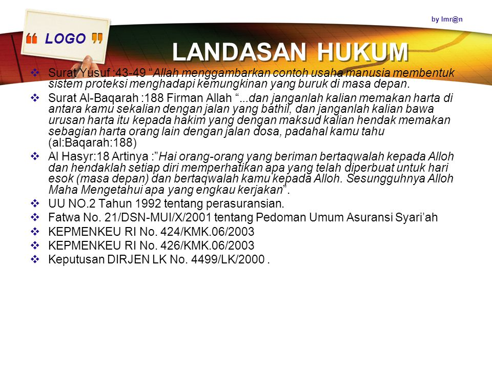 by LANDASAN HUKUM.