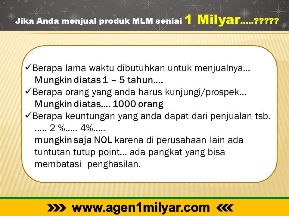www.agen1milyar.com Berapa lama waktu dibutuhkan untuk menjualnya…