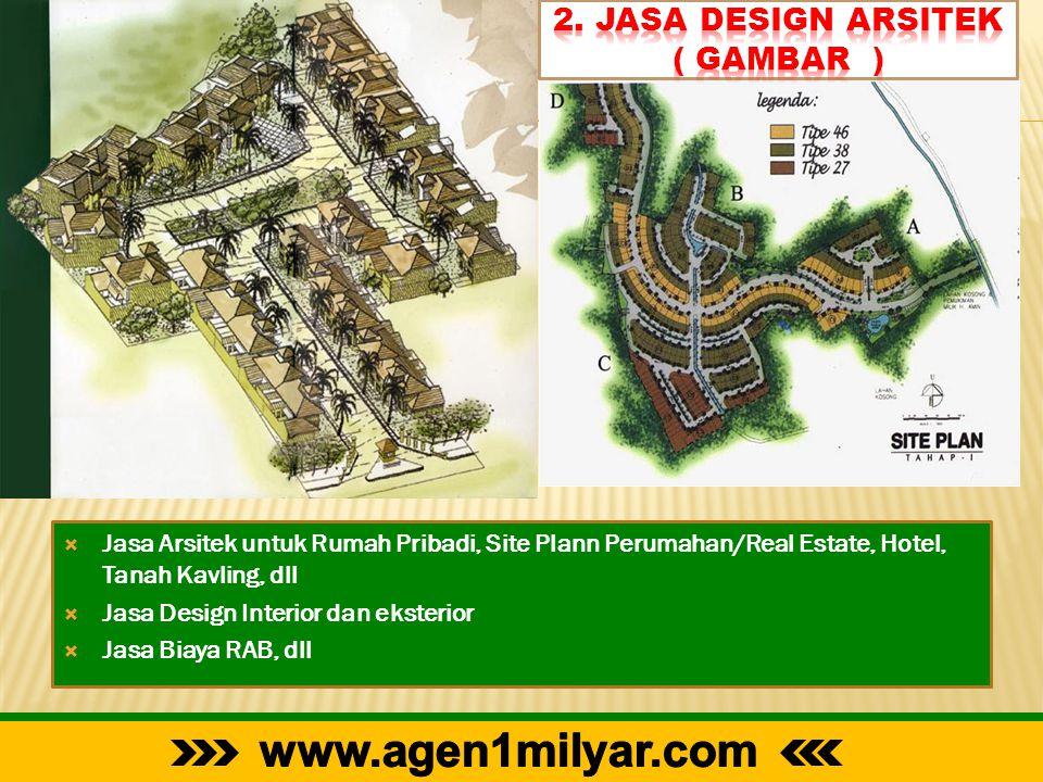 2. Jasa Design Arsitek ( Gambar )