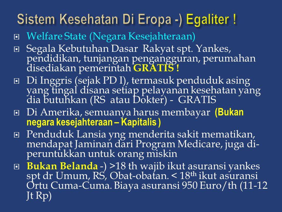 Sistem Kesehatan Di Eropa -) Egaliter !