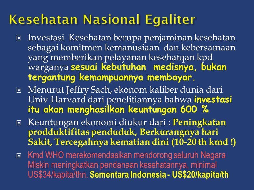Kesehatan Nasional Egaliter