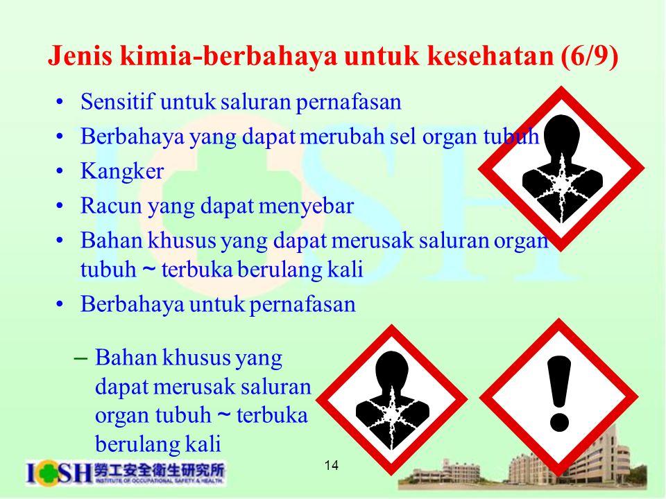 Jenis kimia-berbahaya untuk kesehatan (6/9)