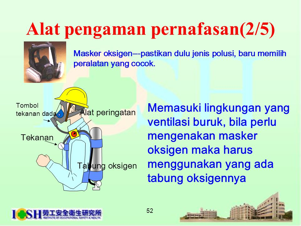 Alat pengaman pernafasan(2/5)