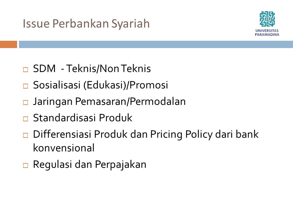 Issue Perbankan Syariah
