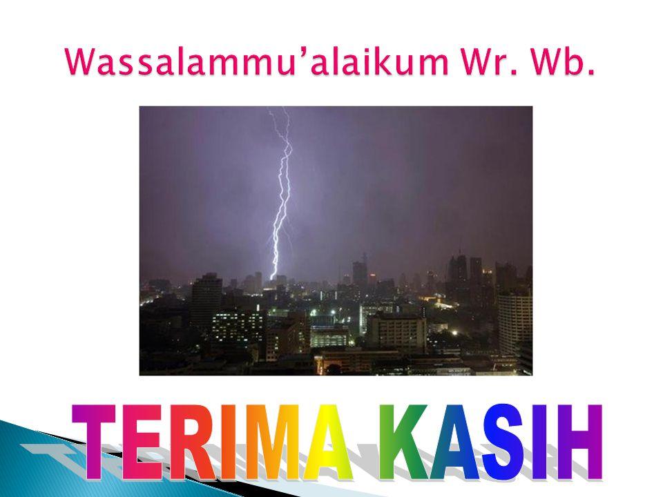 Wassalammu'alaikum Wr. Wb.