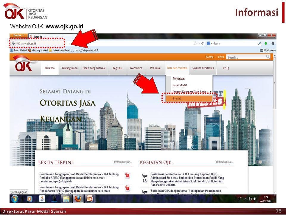 Informasi Terima Kasih Website OJK: www.ojk.go.id