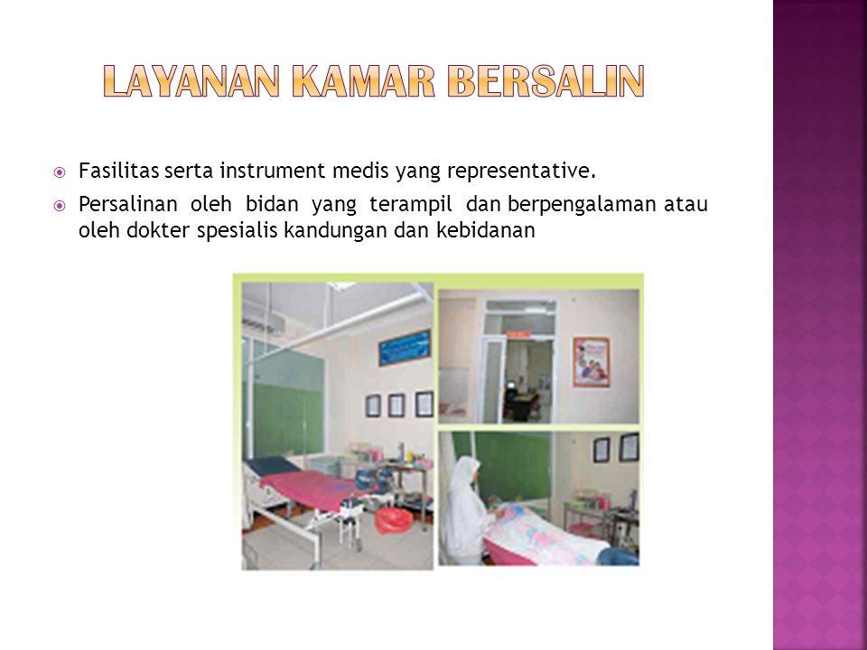 Layanan kamar bersalin