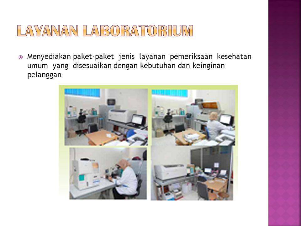 Layanan laboratorium