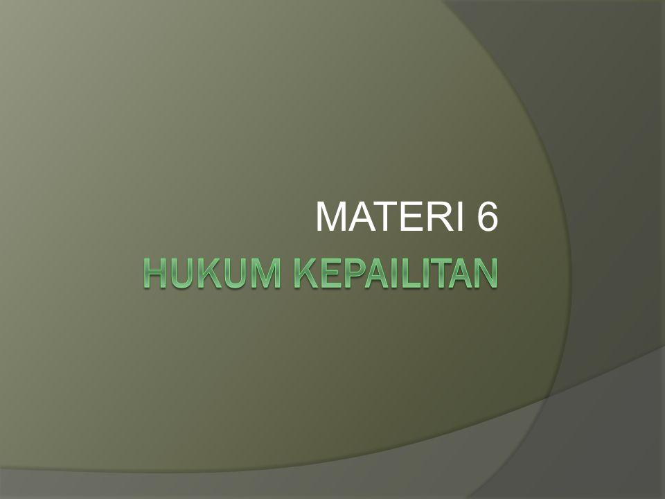 MATERI 6 HUKUM KEPAILITAN