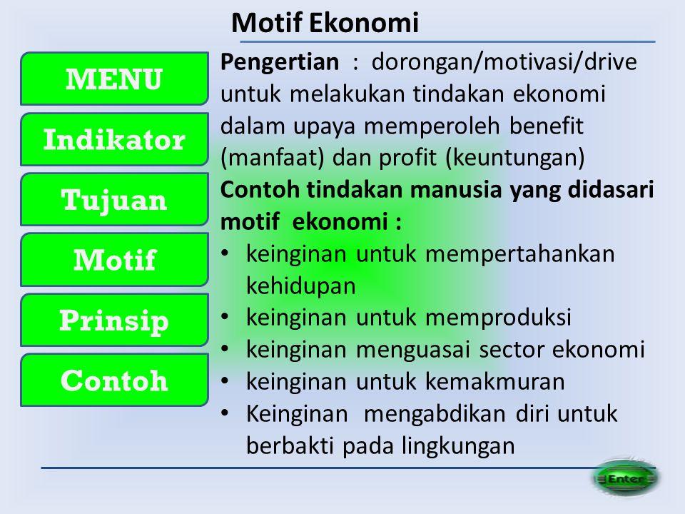 Motif Ekonomi