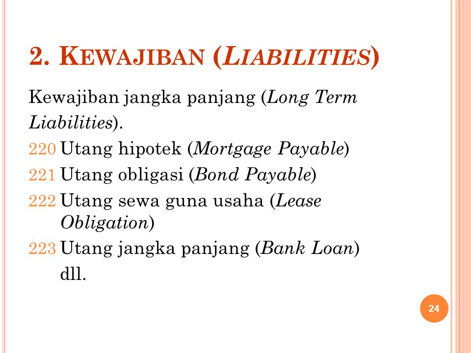 2. Kewajiban (Liabilities)