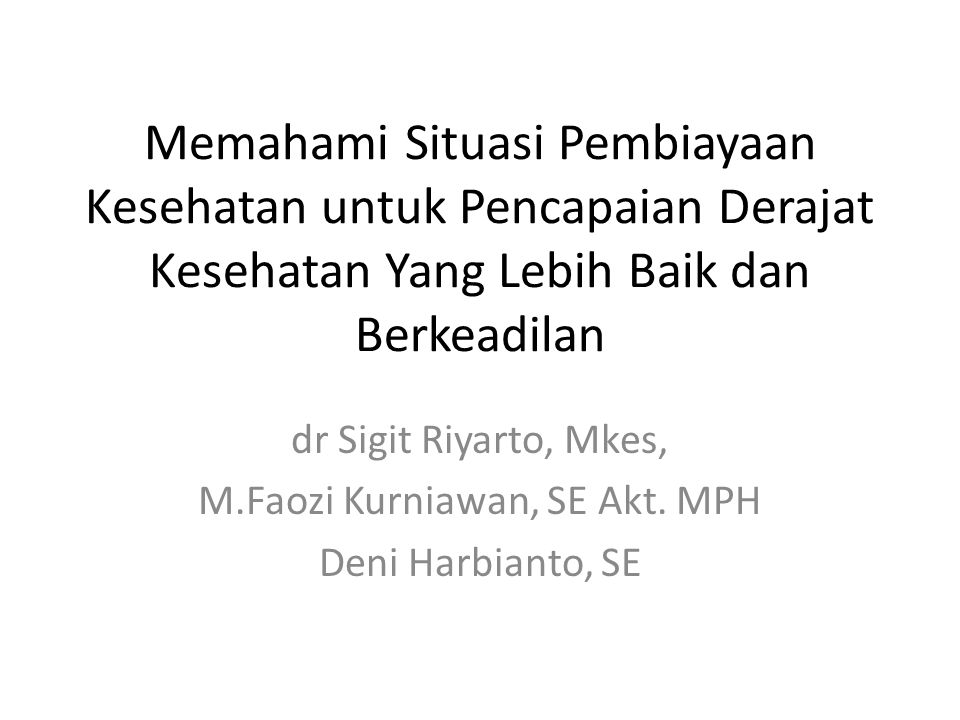 M.Faozi Kurniawan, SE Akt. MPH