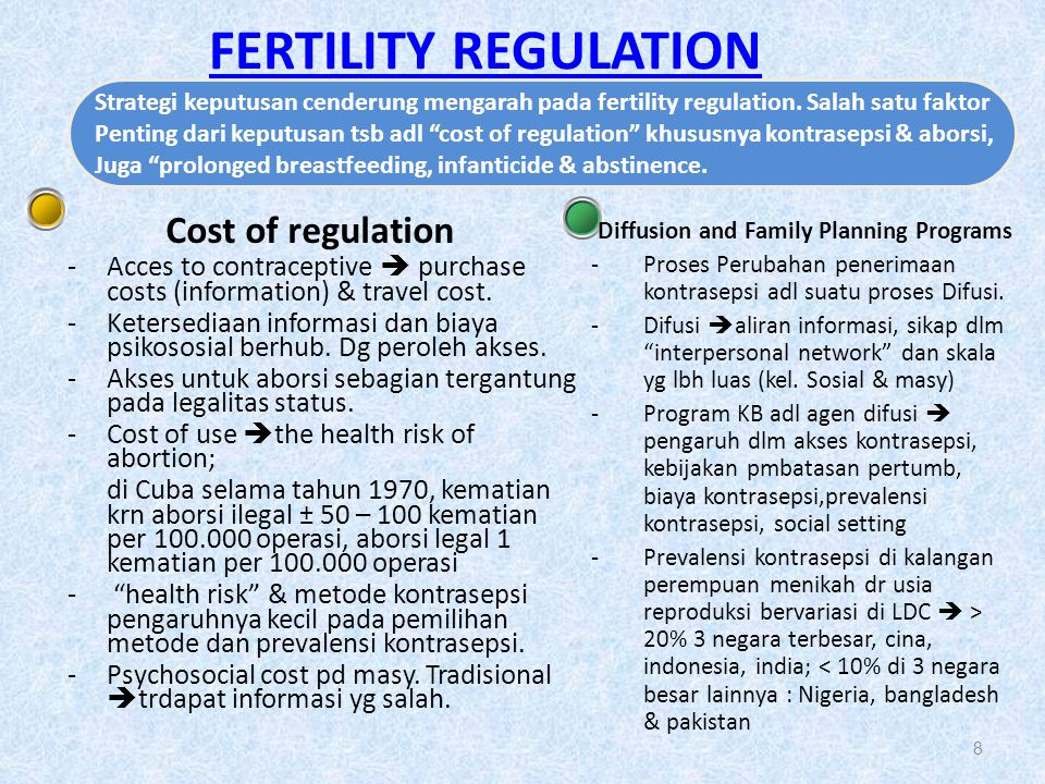 Diffusion and Family Planning Programs