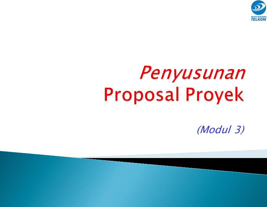 Penyusunan Proposal Proyek