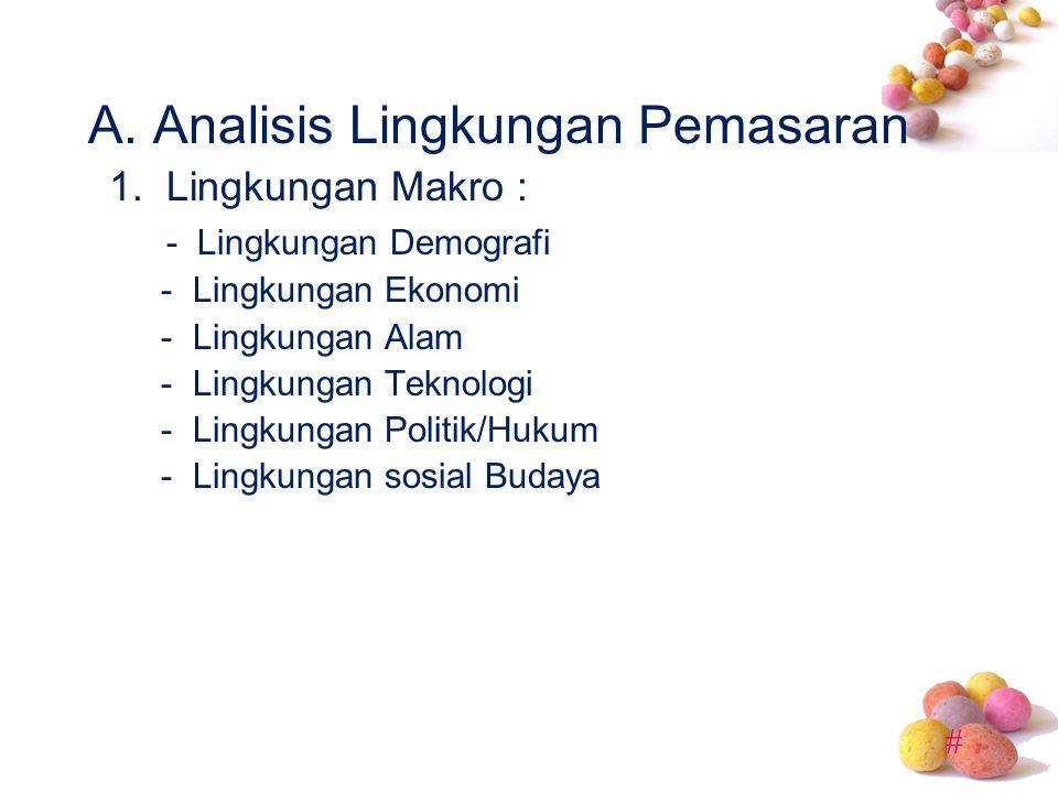 - Lingkungan Demografi