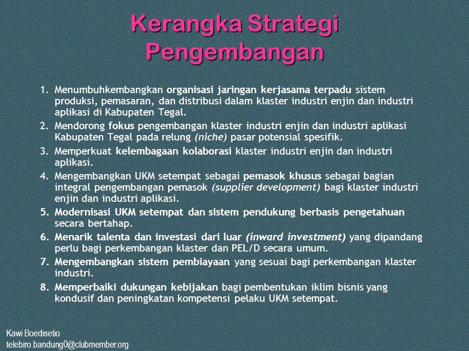 Kerangka Strategi Pengembangan