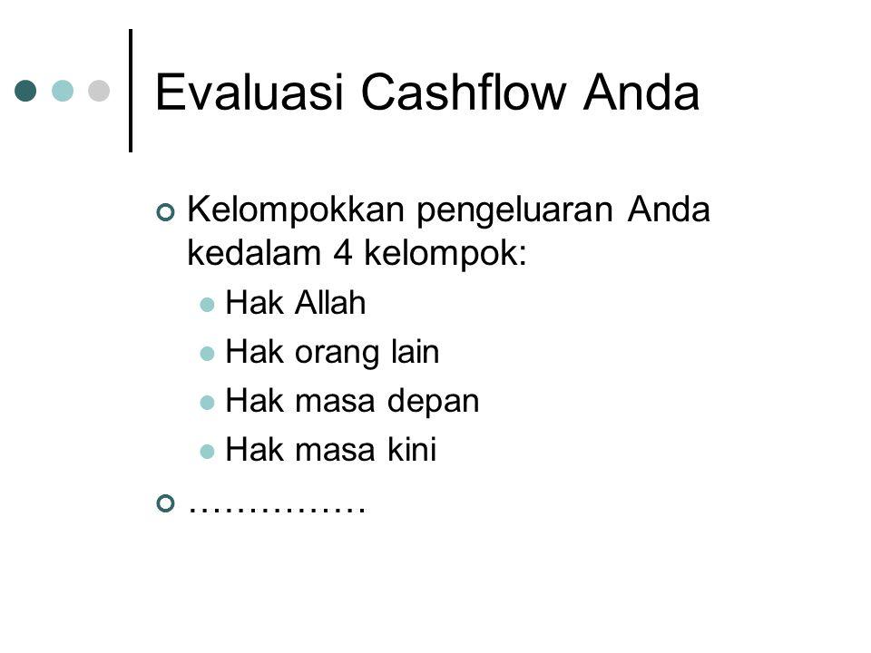Evaluasi Cashflow Anda