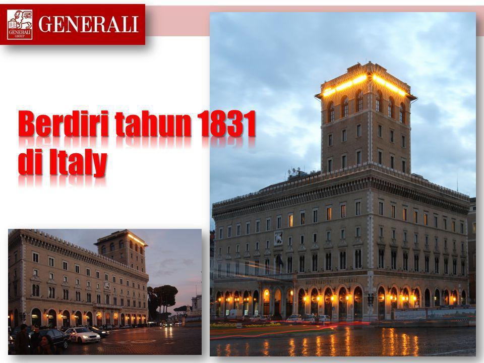 Berdiri tahun 1831 di Italy
