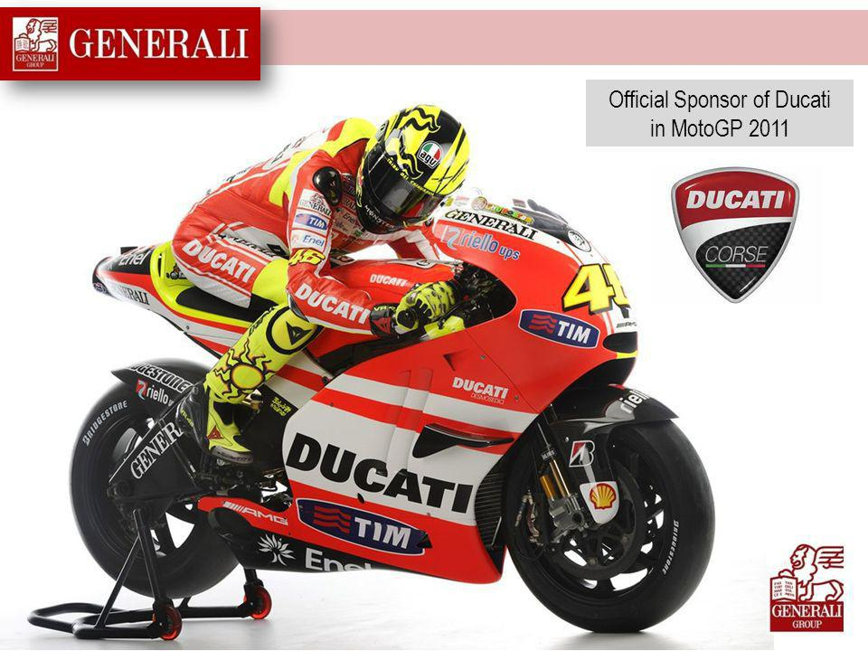 Official Sponsor of Ducati