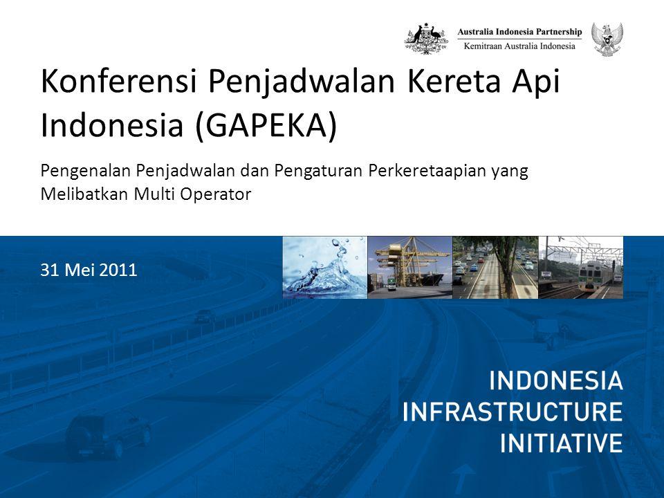 Konferensi Penjadwalan Kereta Api Indonesia (GAPEKA)