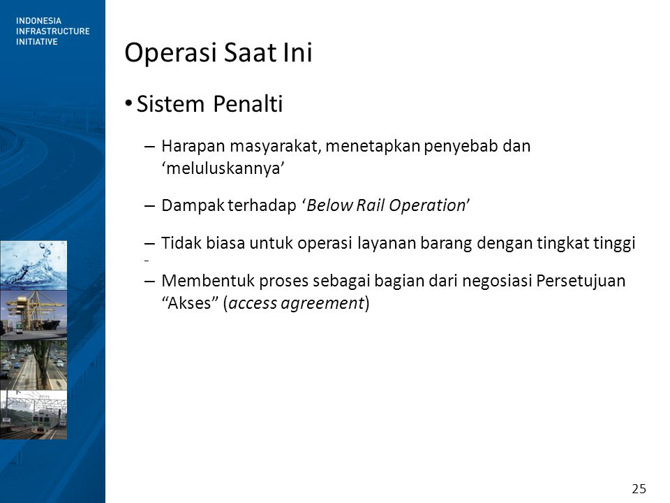 Operasi Saat Ini Sistem Penalti