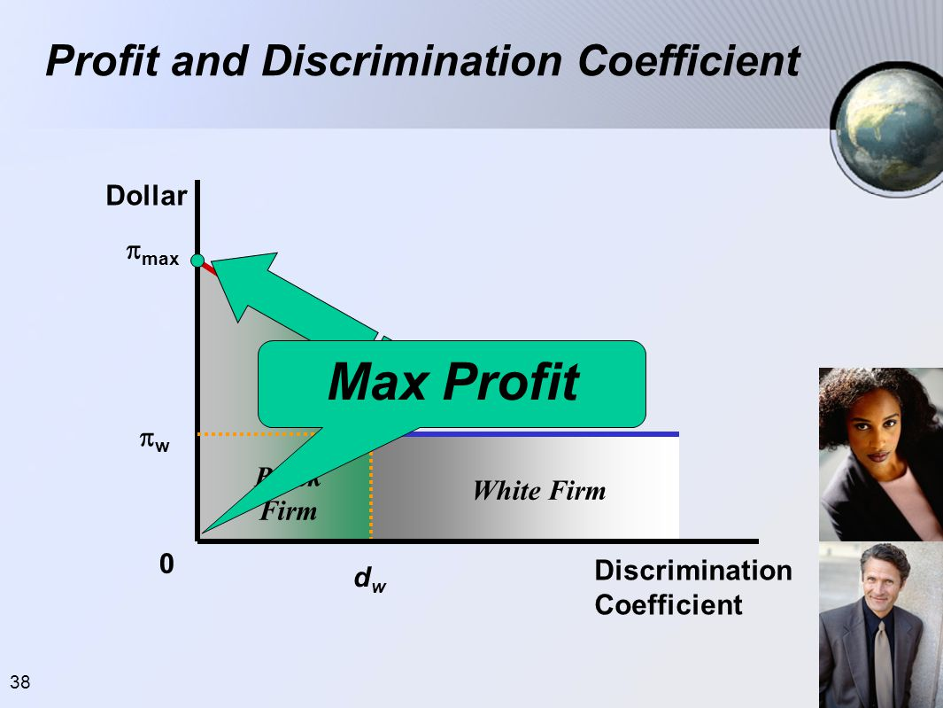 Profit and Discrimination Coefficient