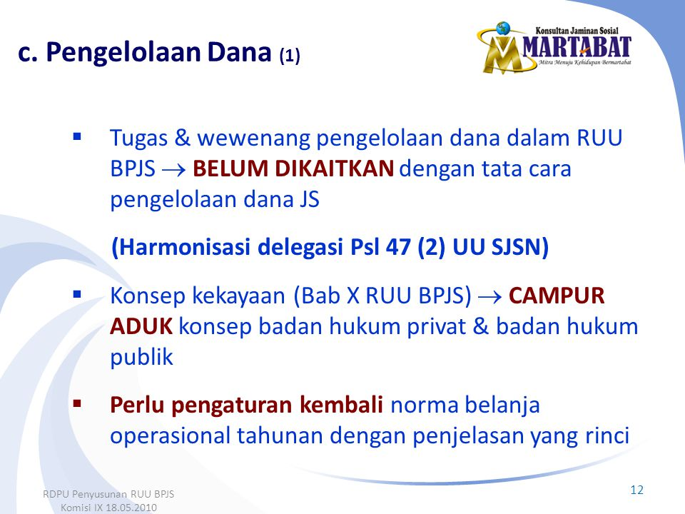 RDPU Penyusunan RUU BPJS Komisi IX 18.05.2010