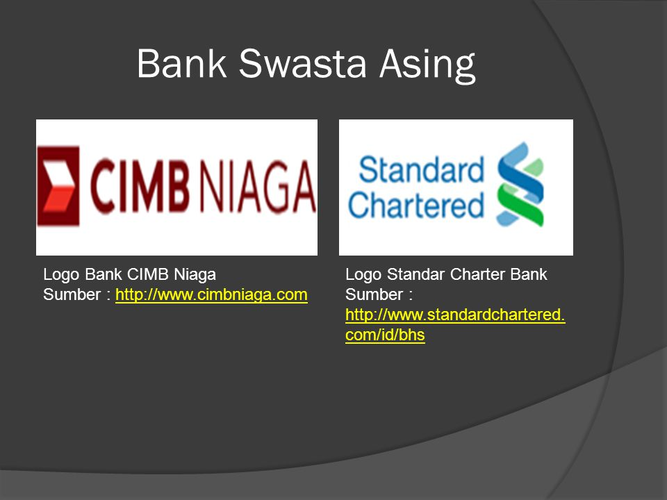 Bank Swasta Asing Logo Bank CIMB Niaga