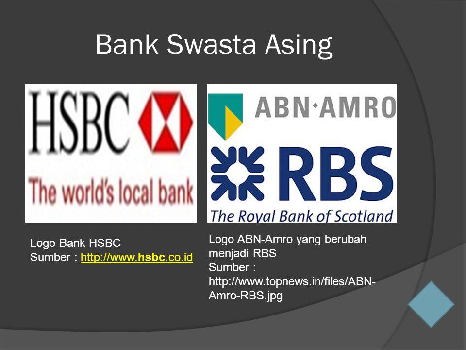 Bank Swasta Asing Logo ABN-Amro yang berubah menjadi RBS