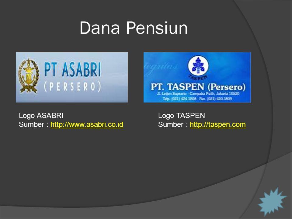 Dana Pensiun Logo ASABRI Sumber : http://www.asabri.co.id Logo TASPEN