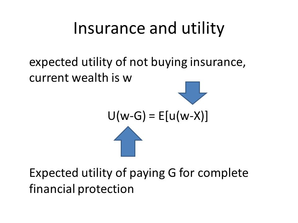 Insurance and utility