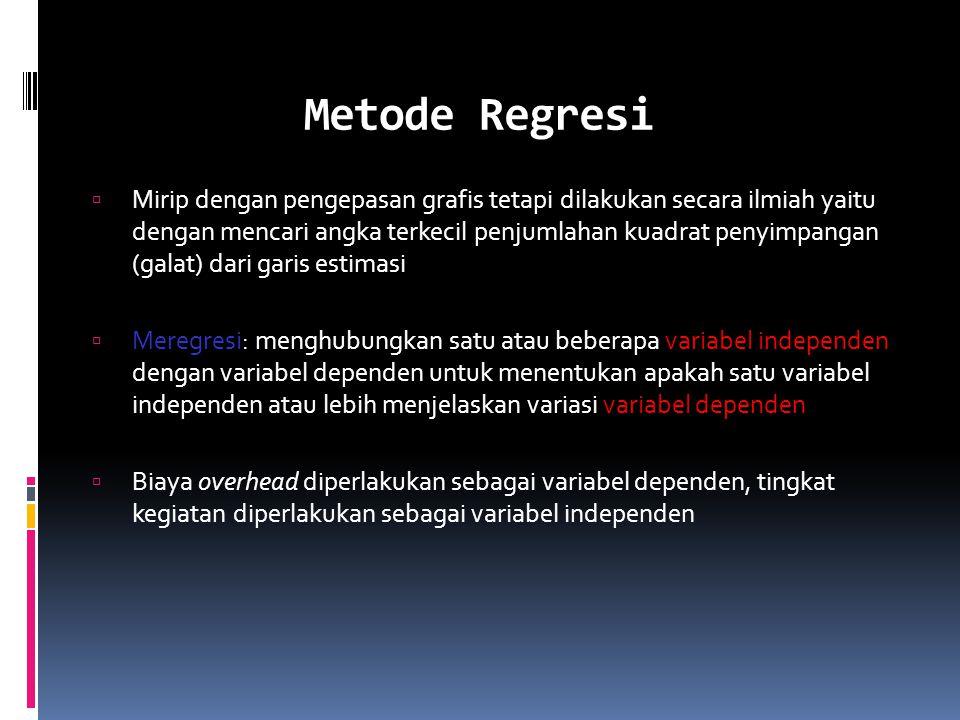 Metode Regresi