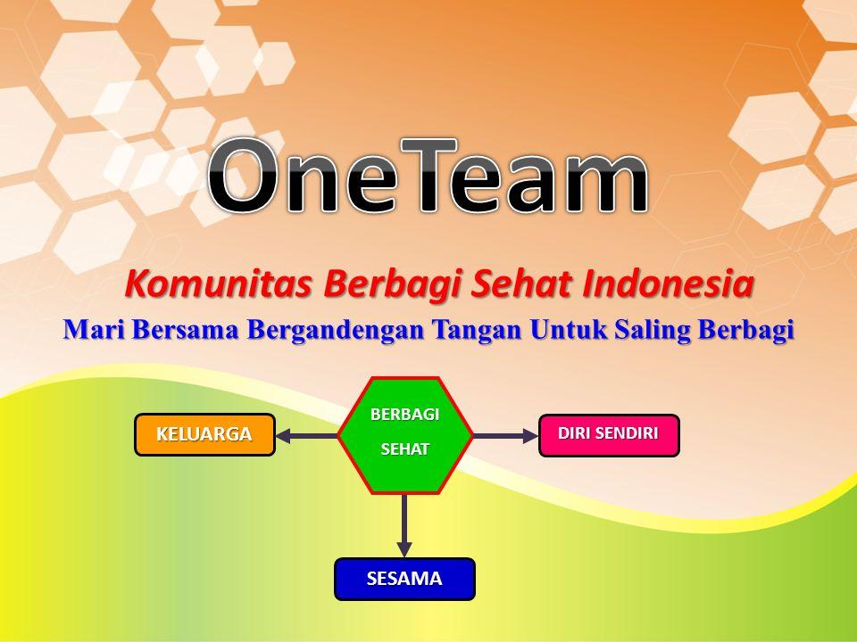 OneTeam Komunitas Berbagi Sehat Indonesia