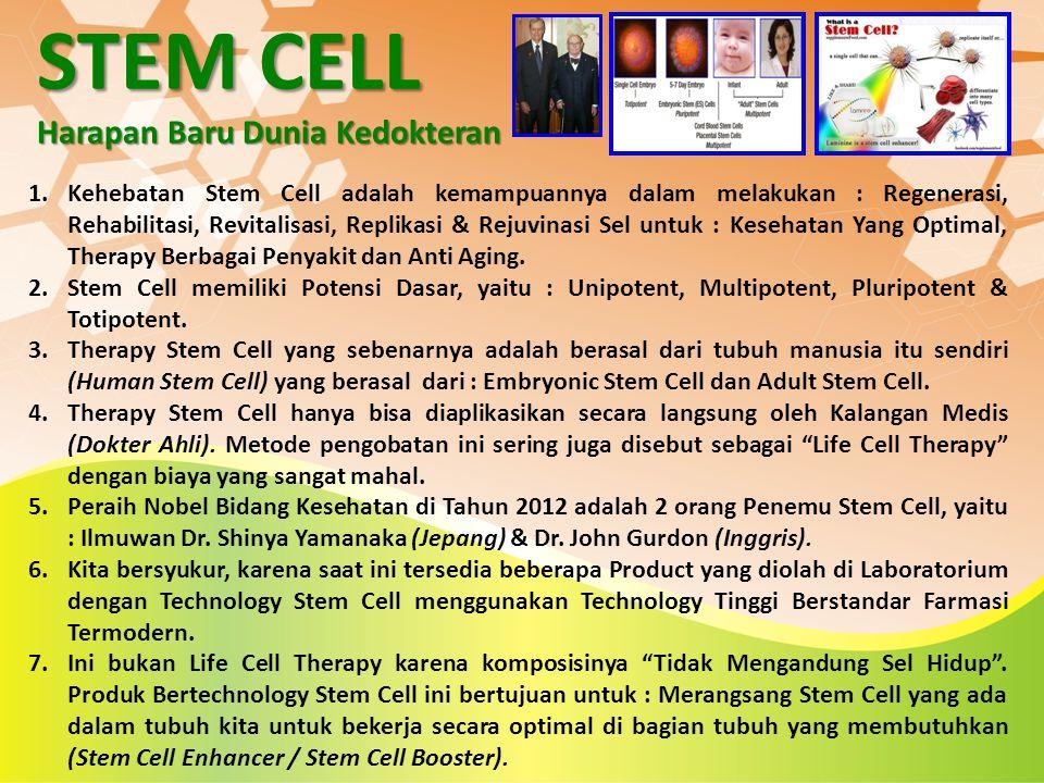 STEM CELL Harapan Baru Dunia Kedokteran