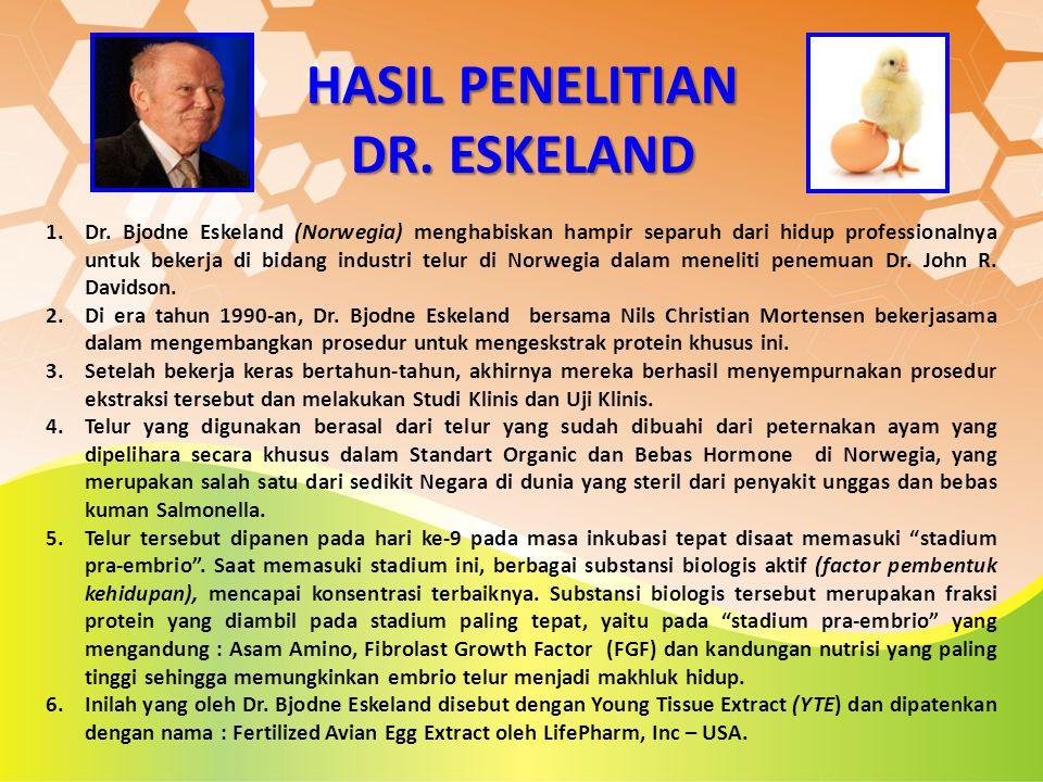 HASIL PENELITIAN DR. ESKELAND