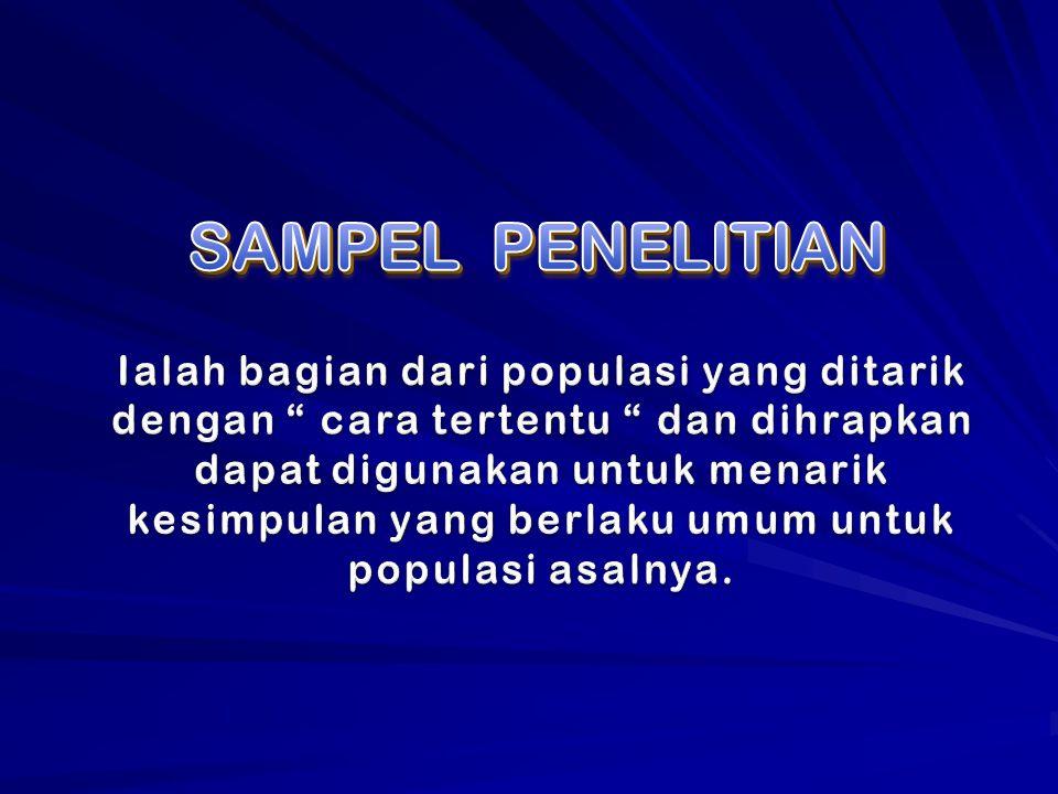 SAMPEL PENELITIAN