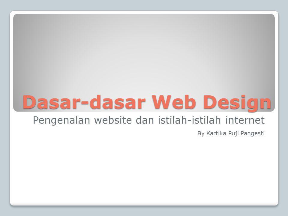 Dasar-dasar Web Design