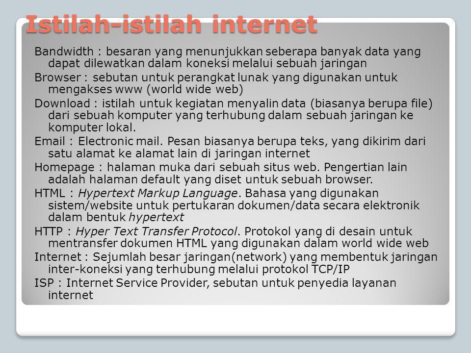 Istilah-istilah internet
