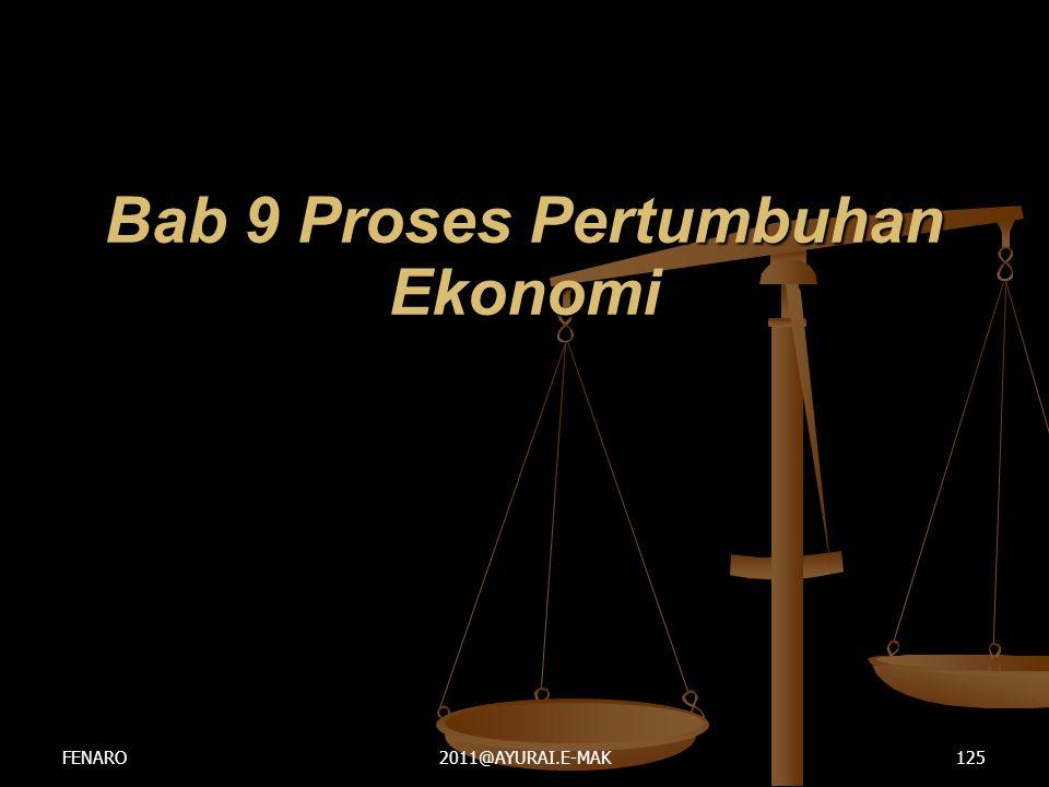 Bab 9 Proses Pertumbuhan Ekonomi