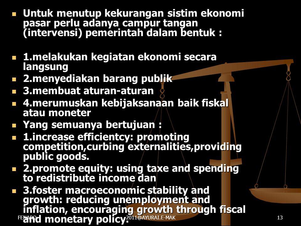 1.melakukan kegiatan ekonomi secara langsung