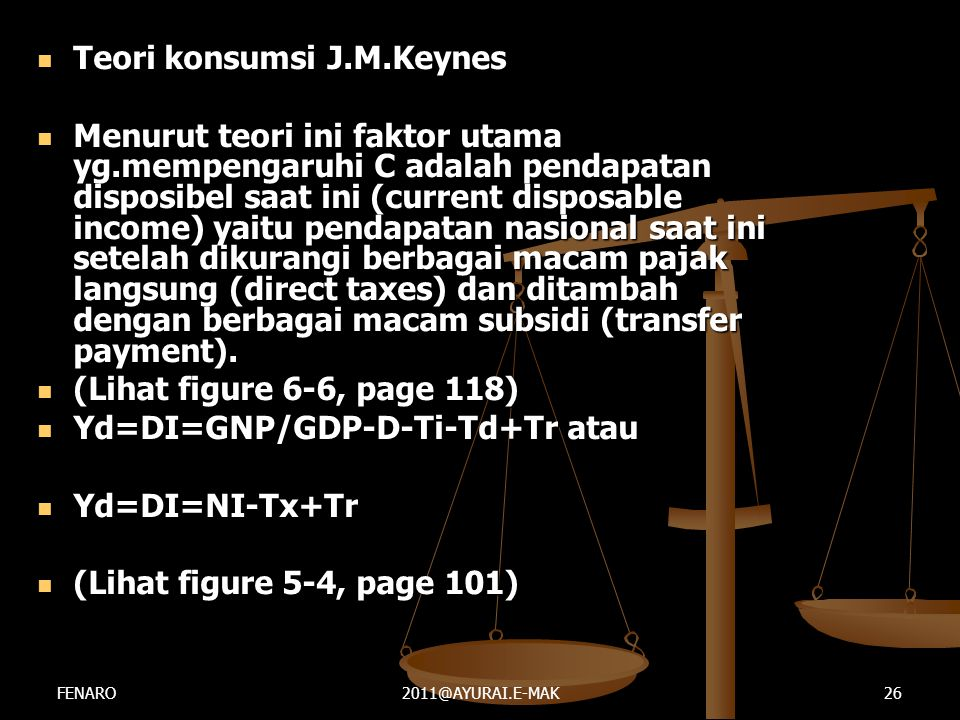 Teori konsumsi J.M.Keynes