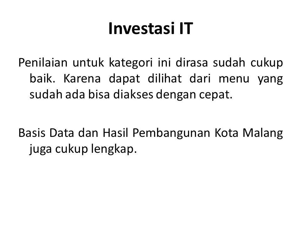 Investasi IT