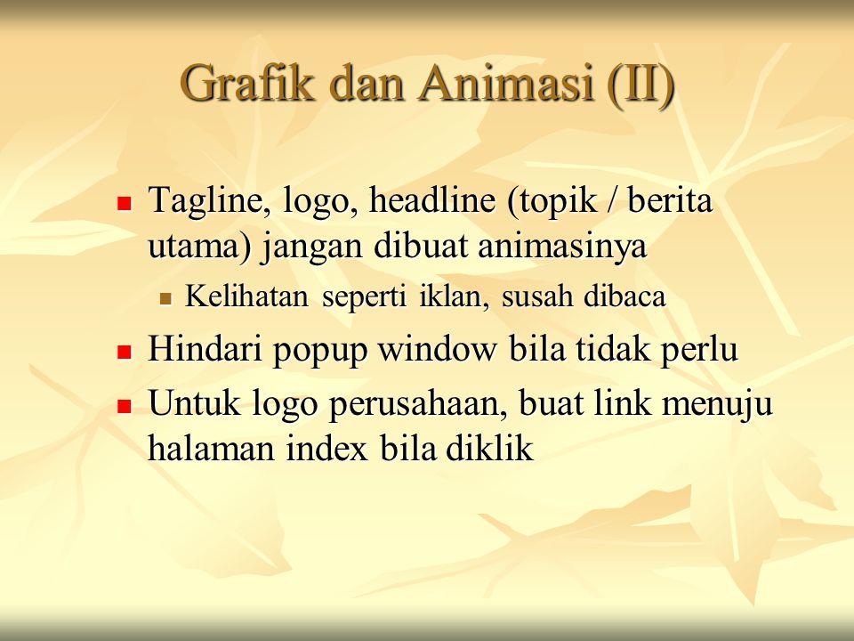 Grafik dan Animasi (II)