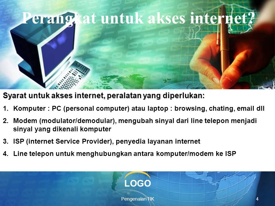 Perangkat untuk akses internet