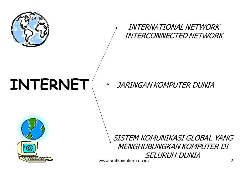 INTERNET INTERNATIONAL NETWORK INTERCONNECTED NETWORK