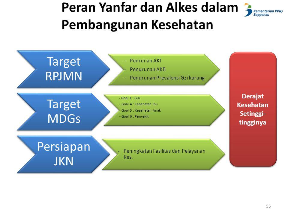 Peran Yanfar dan Alkes dalam Pembangunan Kesehatan