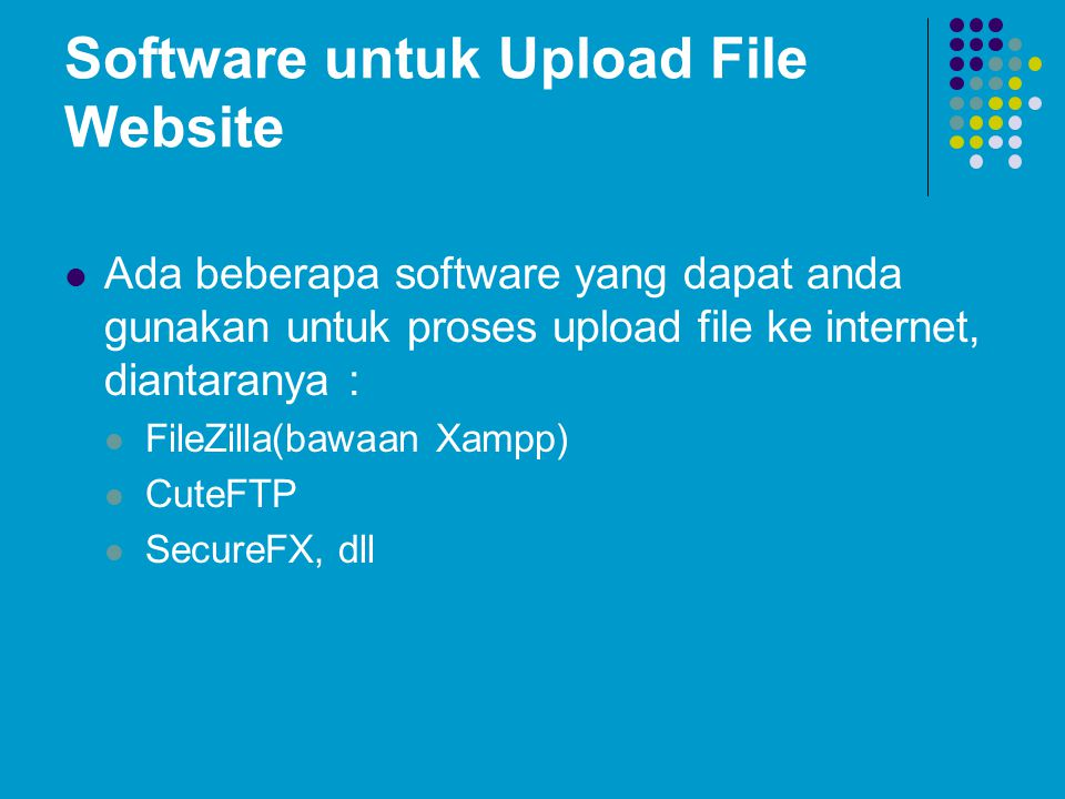 Software untuk Upload File Website
