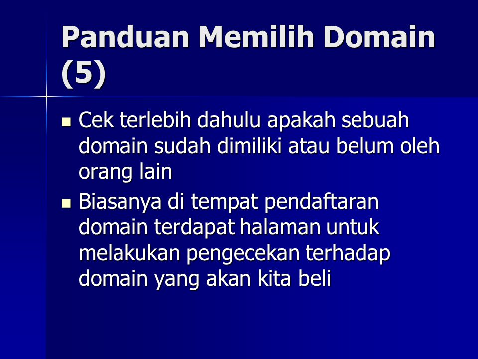 Panduan Memilih Domain (5)